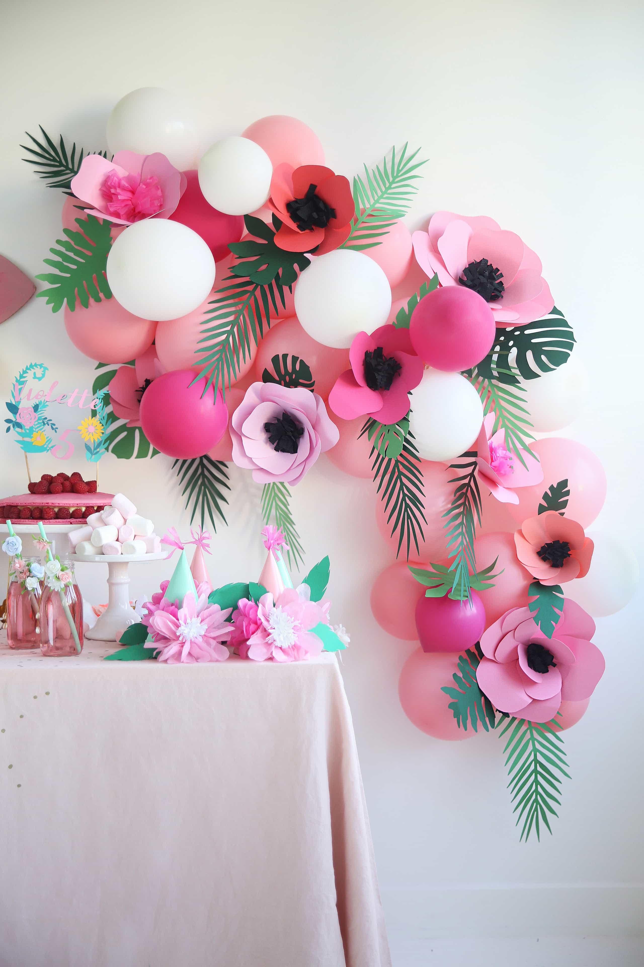 DIY fabriquer des fleurs en papier soi-même à la maison
