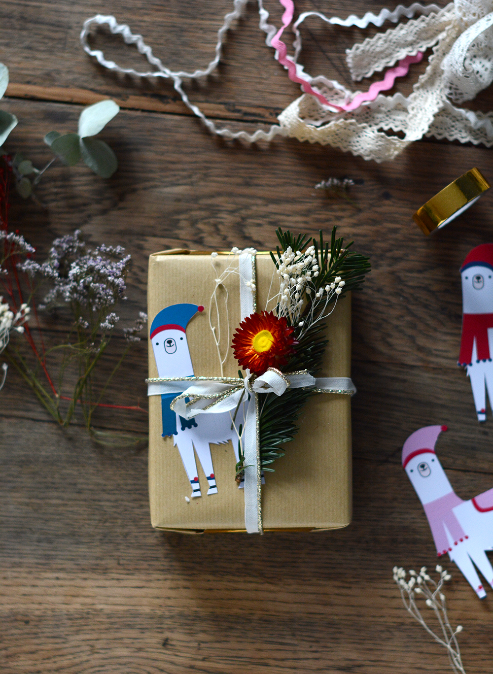 Etiquette cadeau Noel diy a faire soi meme - Blog Sweet Party Day