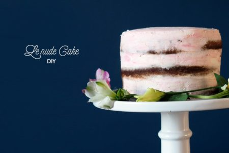 COMMENT FAIRE UN GATEAU NU (NUDE CAKE) ?