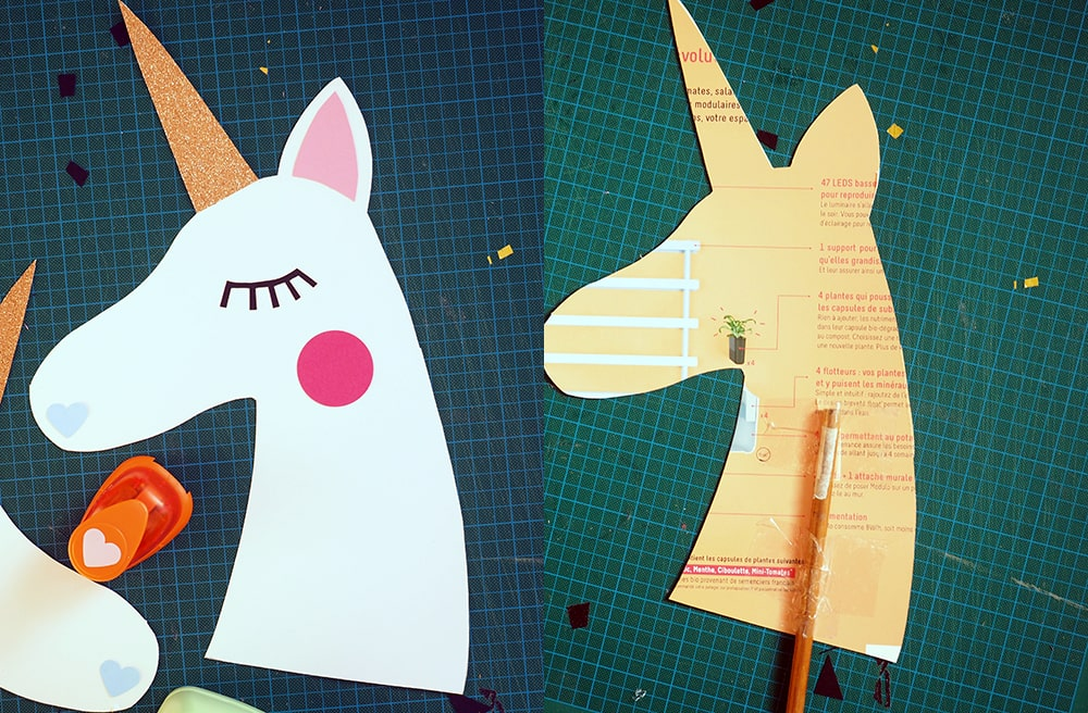 DIY baton licorne à chevaucher Sweet Party Day