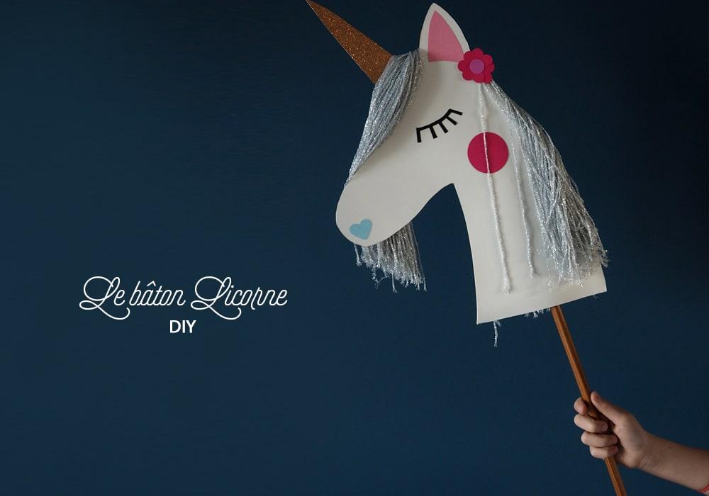 Fabriquer soi-même une licorne à chevaucher - DIY Sweet Party Day