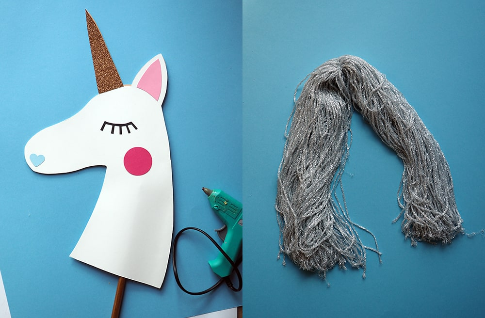 Tête de licorne à chevaucher DIY Sweet Party Day